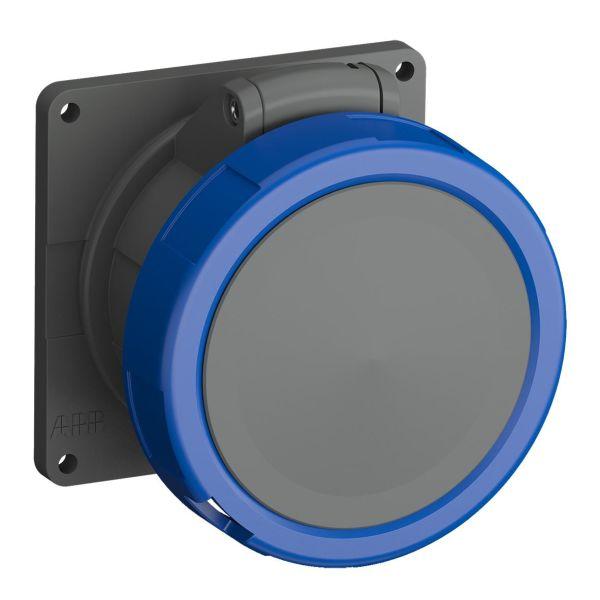 ABB 2CMA101308R1000 Seinäpistorasia IP67 Sininen, 32 A, 3-napainen