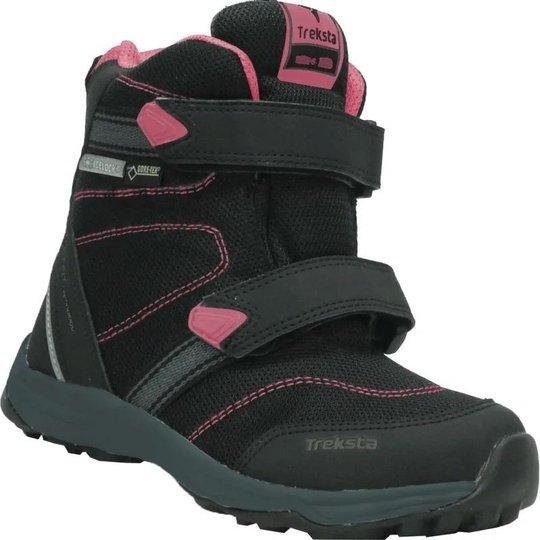 Treksta Run GTX High Vintersko, Black/Pink, 23