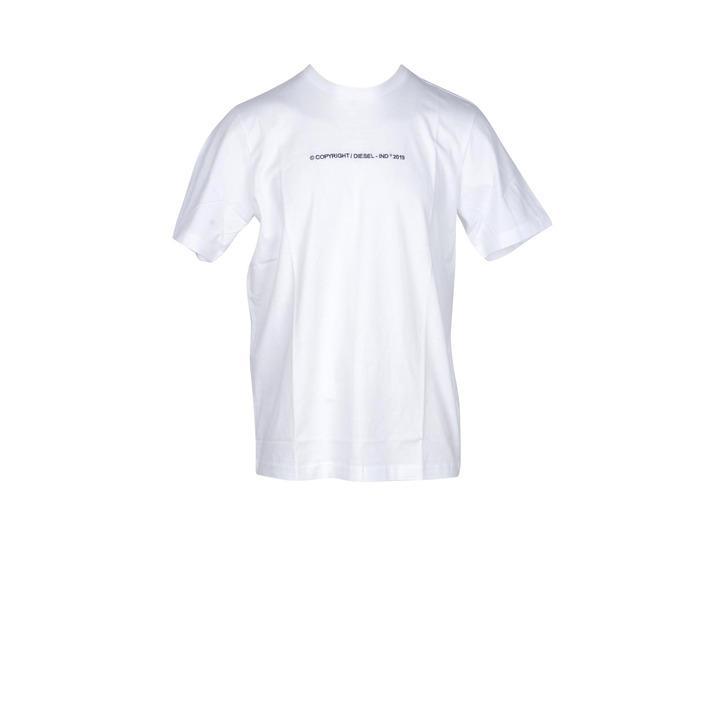 Diesel Men's T-Shirt White 181210 - white M