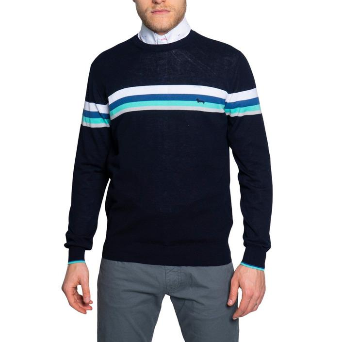 Harmont & Blaine Men's Sweater Various Colours 243517 - blue S