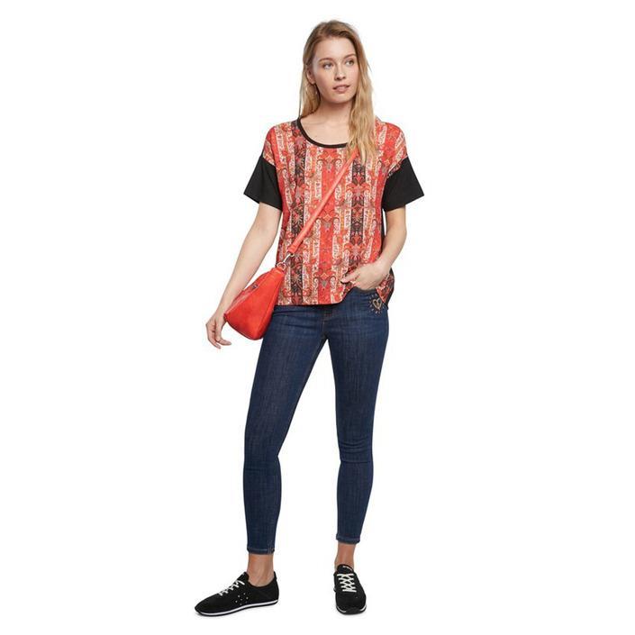 Desigual Women's T-Shirt Various Colours 252717 - black XS