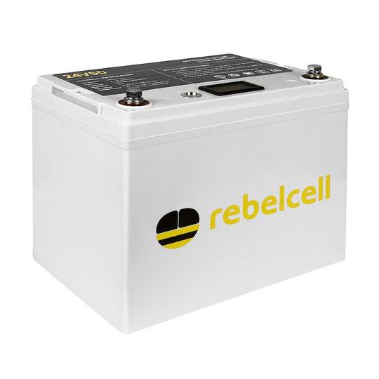 Rebelcell 24V 50 Ah litiumbatteri
