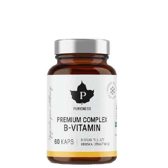 Premium Complex B-Vitamin, 60 caps