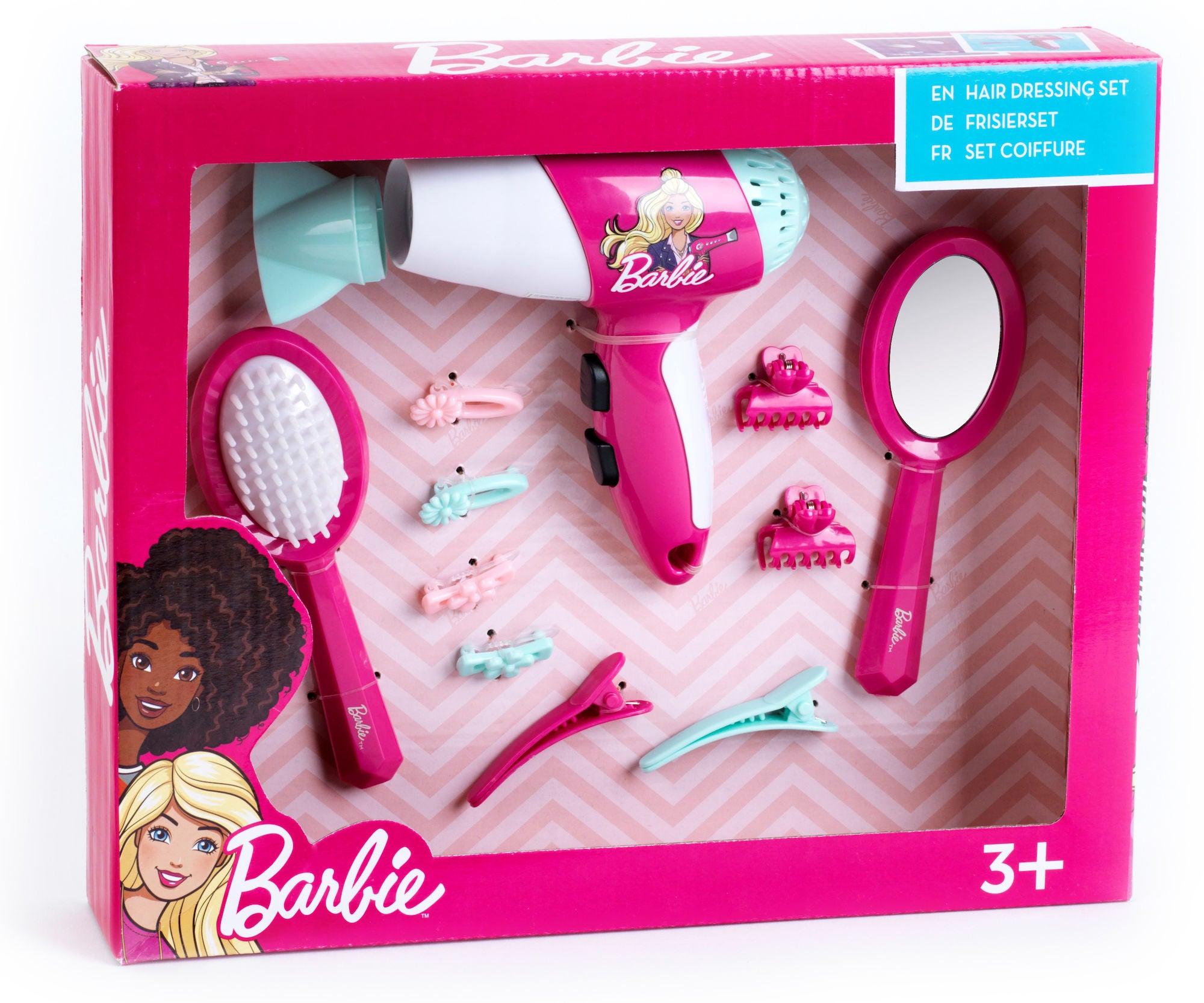 Barbie Kampaamosetti & Hiustenkuivain