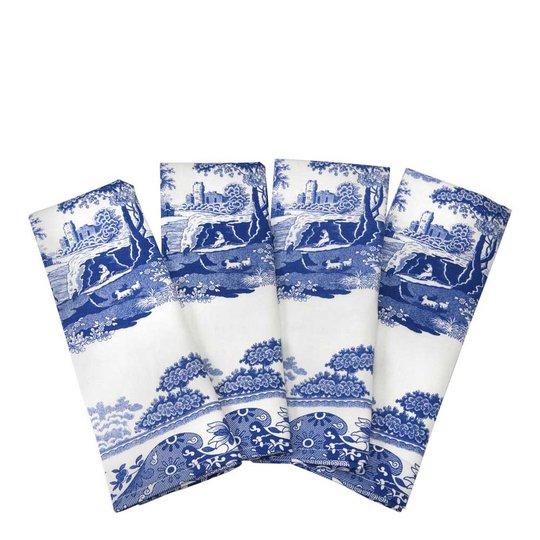 Spode - Blue Italian Handduk 45x75 cm 4-pack