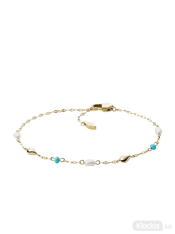 FOSSIL Armband Fashion – Guld JF03733710 - Damsmycke