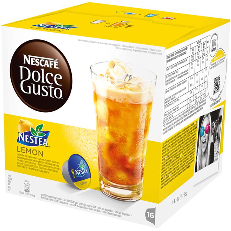 """Tekapslar """"Nestea Lemon"""" 16-pack - 44% rabatt"""