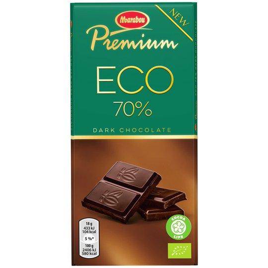 Eko Mörk Choklad 90g - 50% rabatt