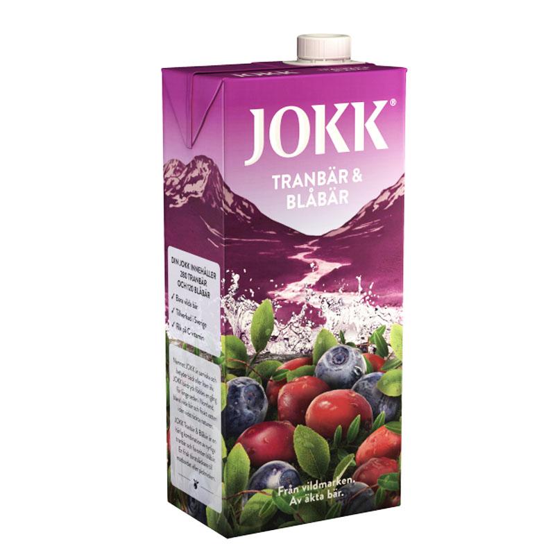 Tranbär & Blåbärsdryck 1l - 40% rabatt