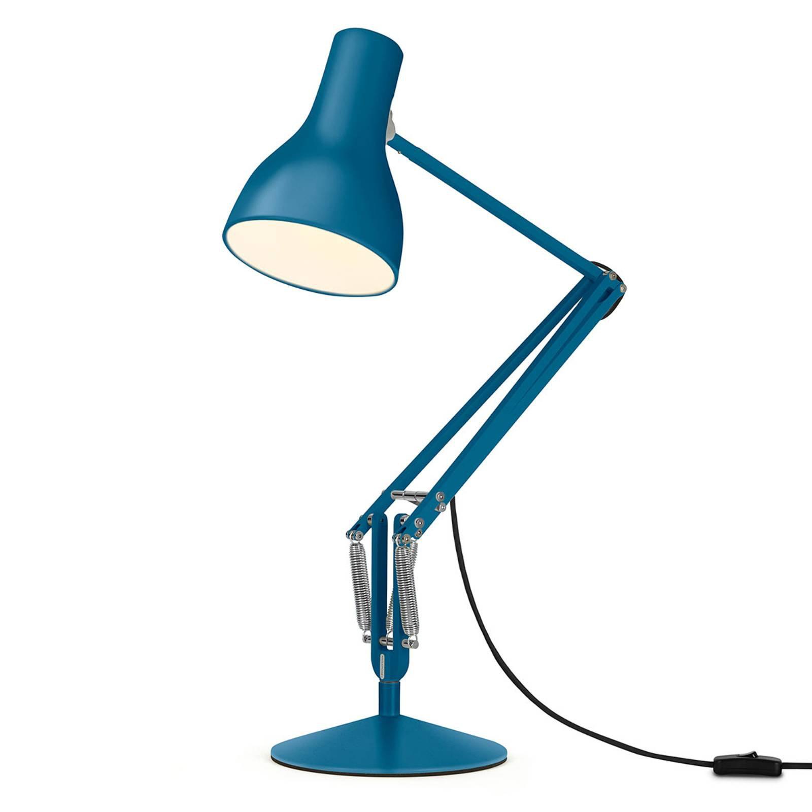 Anglepoise Type 75 bordlampe Margaret Howell blå