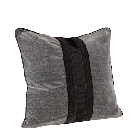Kelly Ribbon Kuddfodral 50x50 Grey