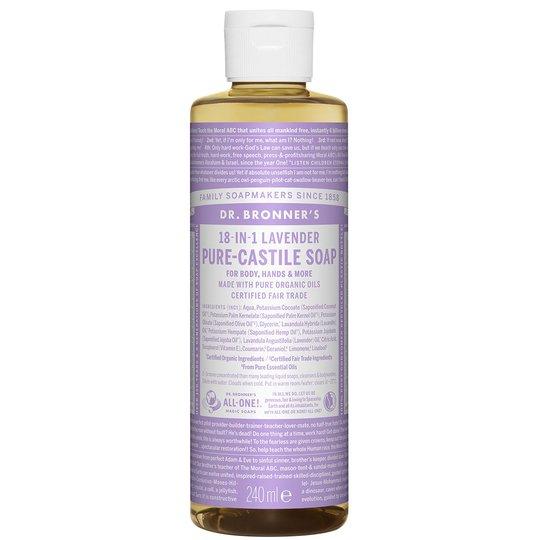 Magic Soaps Lavender, 240 ml Dr. Bronner's Suihku- ja kylpytuotteet