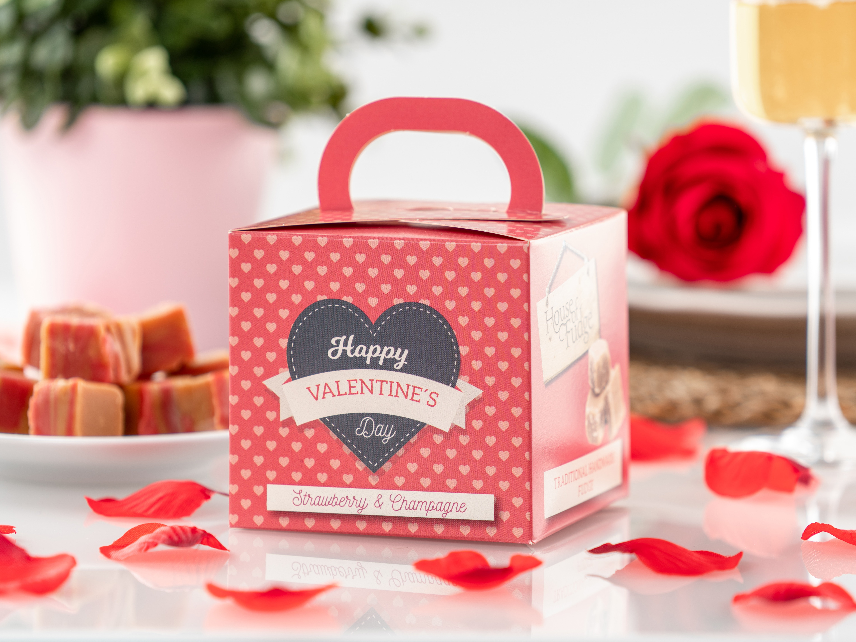 Happy Valentine?s Day Fudge