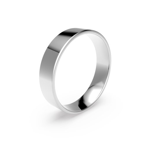 Förlovningsring i platina 5mm, 58