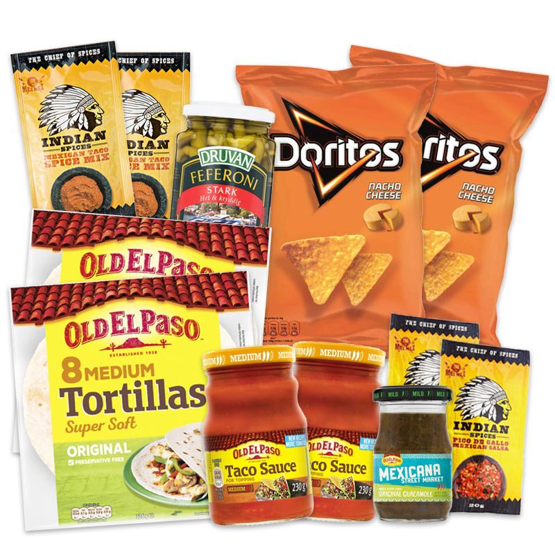 Stora Taco-paketet - 45% rabatt