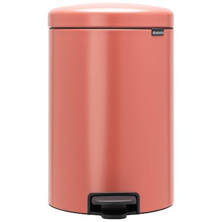 NewIcon Pedalbøtte Terracotta Pink 20 liter