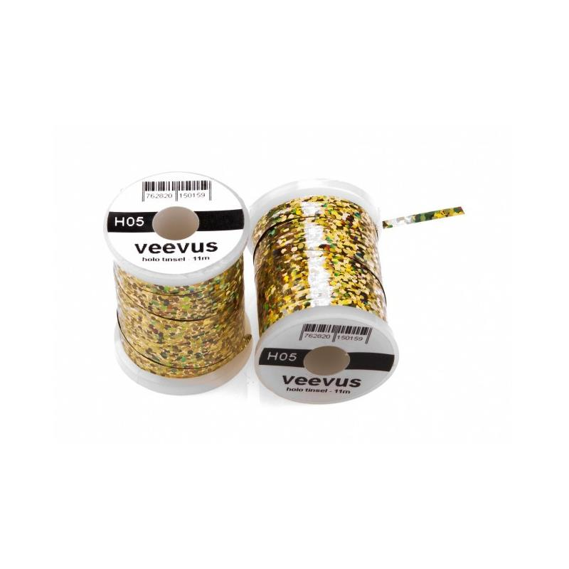 Veevus Holo Tinsel Gold