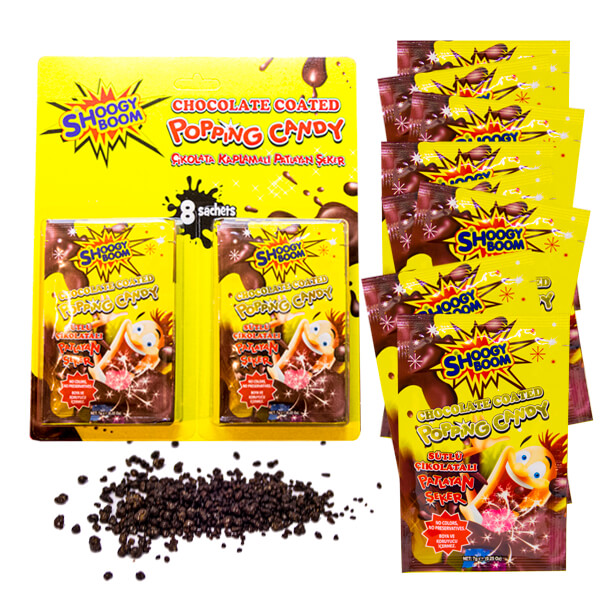Popping Candy - Chocolate Coated 8-pack