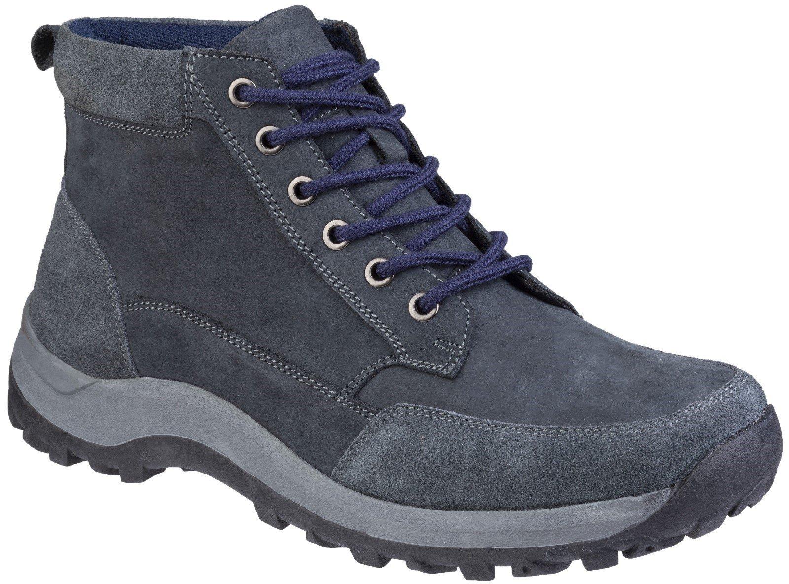 Cotswold Men's Slad Lace Up Boot Various Colours 27136 - Navy 6.5