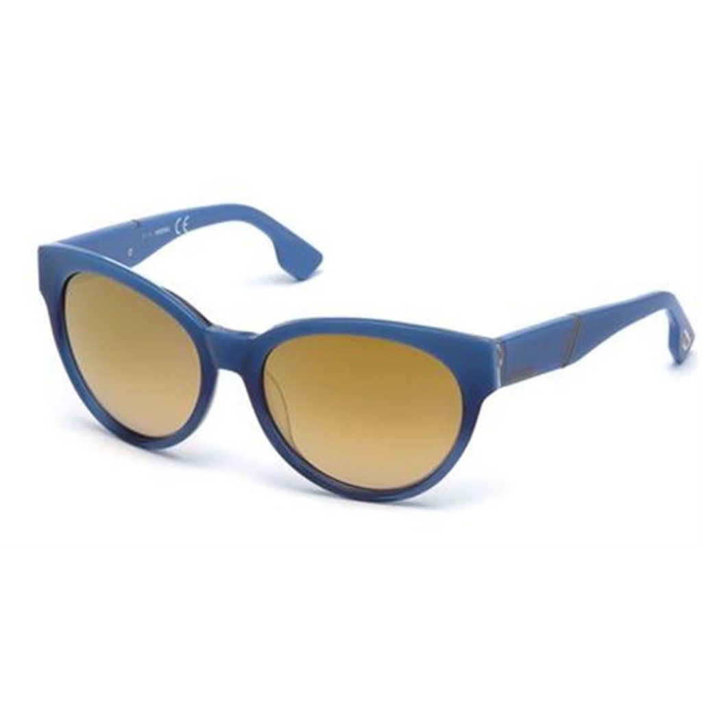 Diesel Women's Sunglasses Blue DL0124 - blue NOSIZE