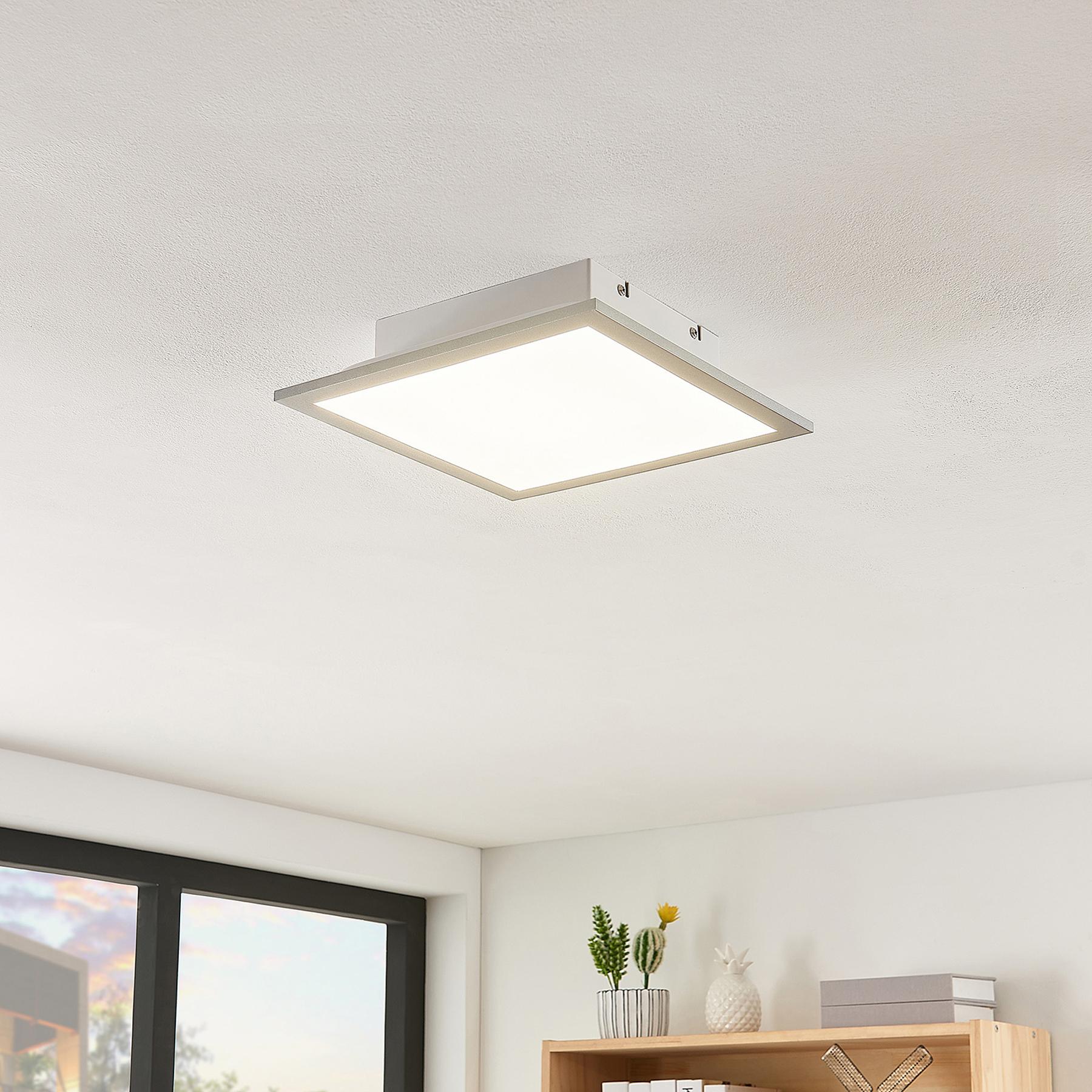 Lindby Stenley -LED-paneeli, CCT, 29 cmx29 cm