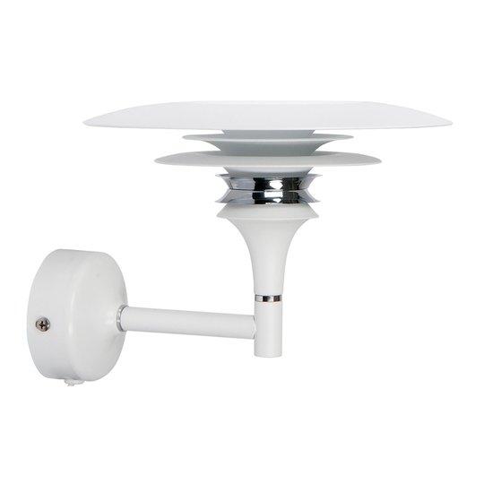 Diablo-LED-seinävalaisin, valkoinen, pistokkeella
