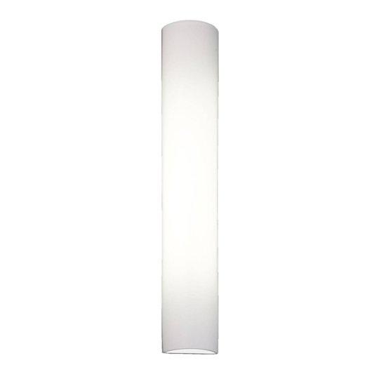 BANKAMP Cromo LED-vegglampe av glass, høyde 40cm