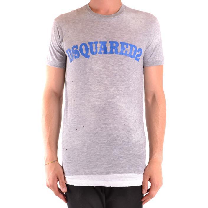 Dsquared Men's T-Shirt Grey 167575 - grey S