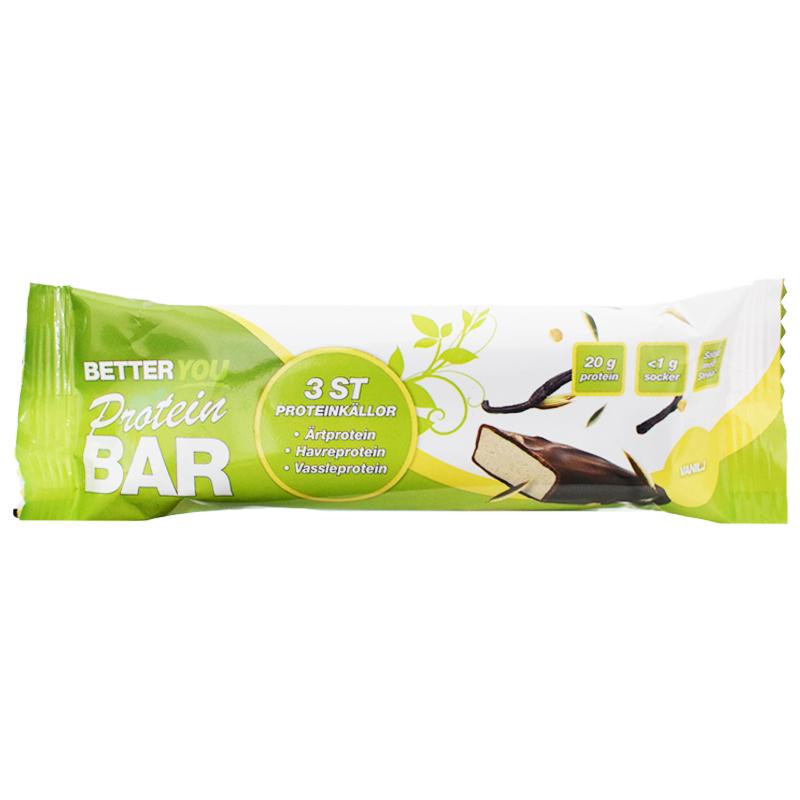 Proteinbar Vanilj 60g - 60% rabatt