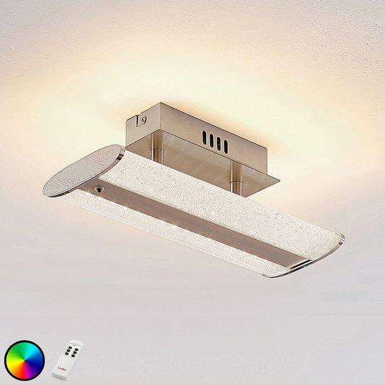 Lindby Sylke LED-kattovalaisin, 30 cm
