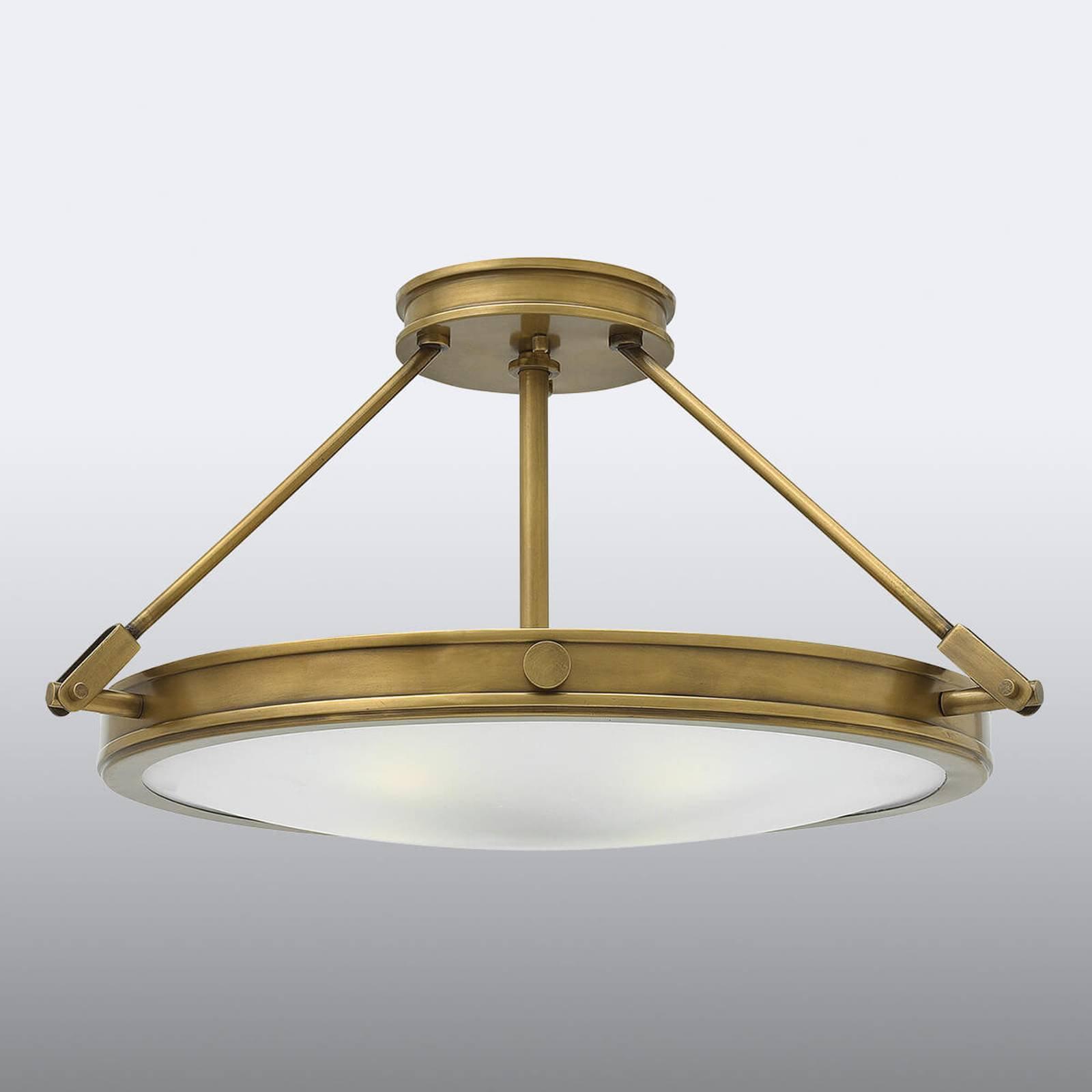 Taklampe med avstandsstykke Collier 55,9cm