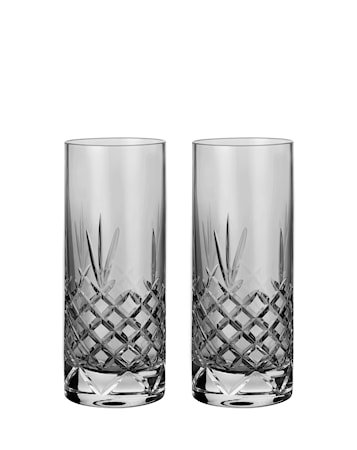 Dark Highball Glass 37 cl 2-pakning