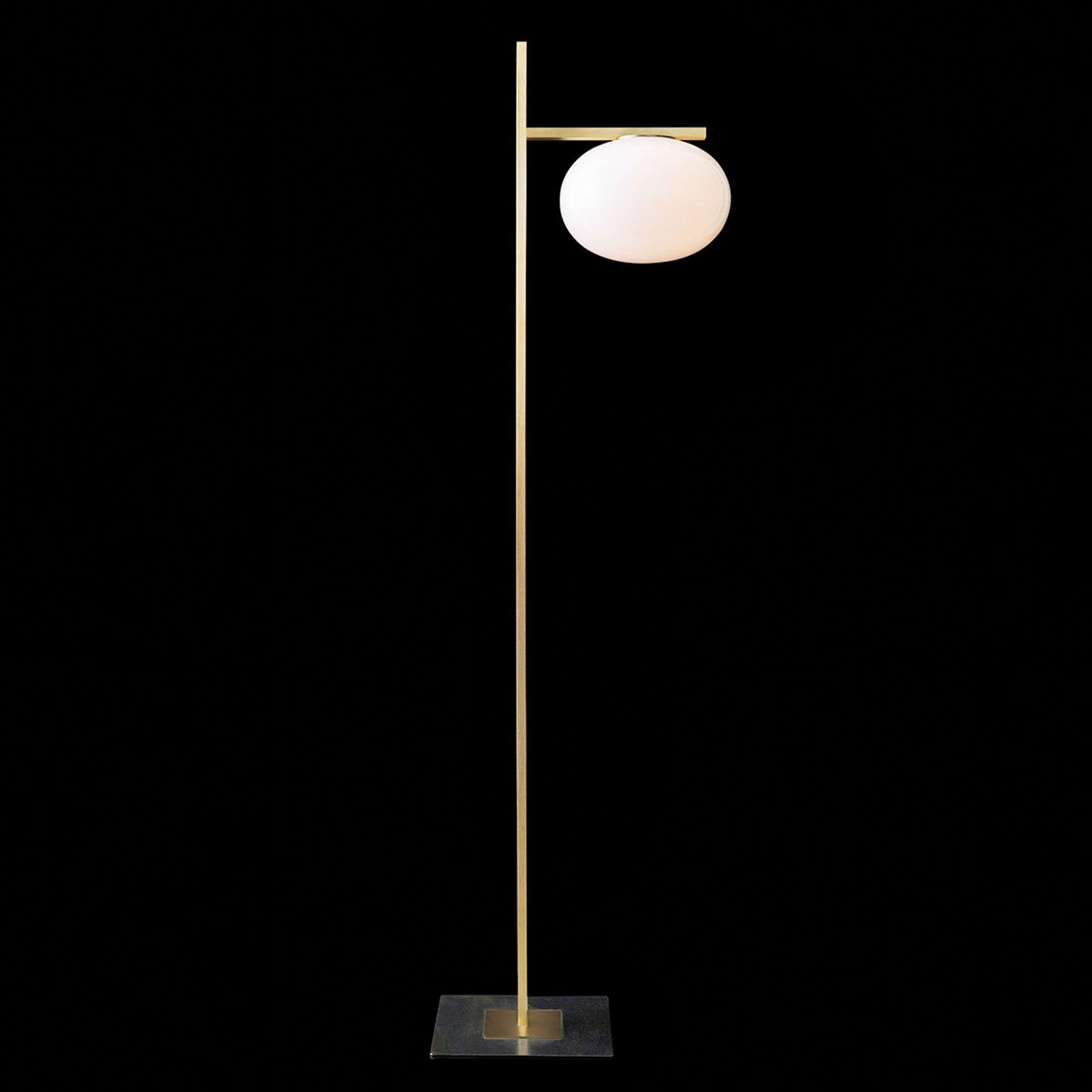 Oluce Alba - gulvlampe med dimmer, 1 lyskilde