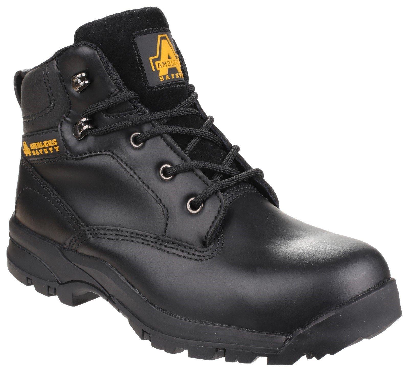 Amblers Women's Safety Ryton Lightweight Water-Resistant Boot Black 24185 - Black 3