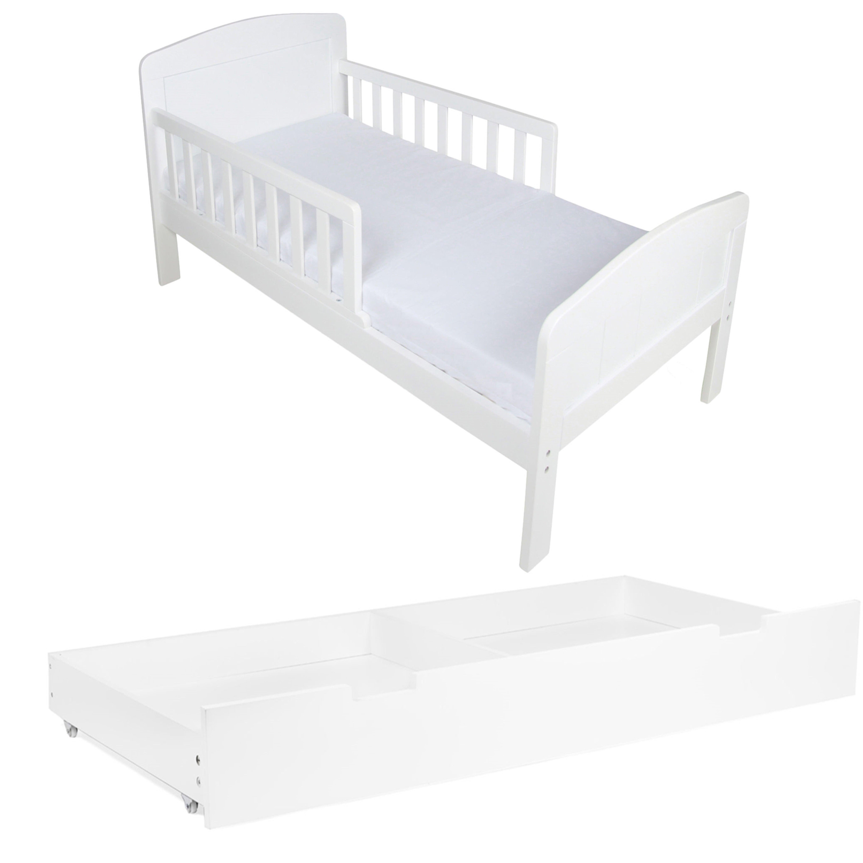 JLY Dream Paketti Juniorisänky & Säilytyslaatikko, Valkoinen