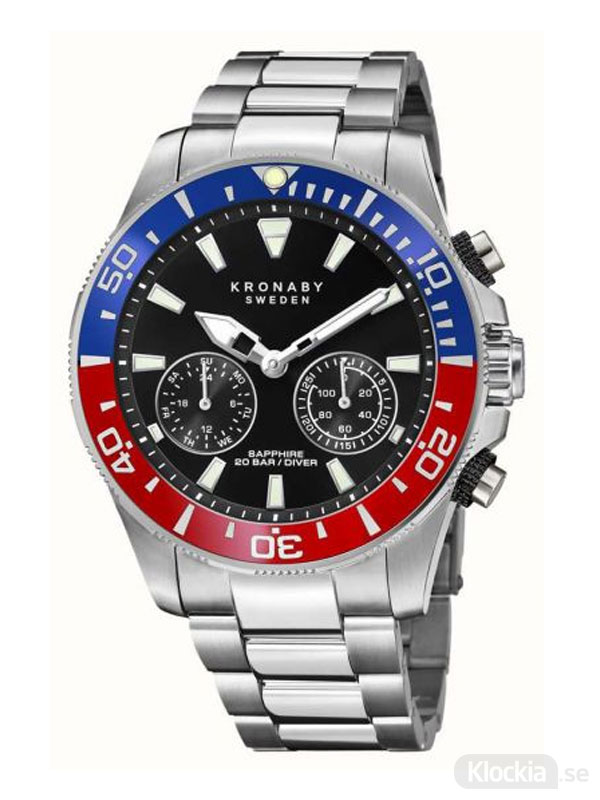 KRONABY Diver 45.5mm S3778/4 - Smartwatch