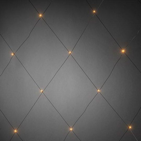 Konstsmide 3749-800 LED-verkko 64 valopistettä, 2x2 m