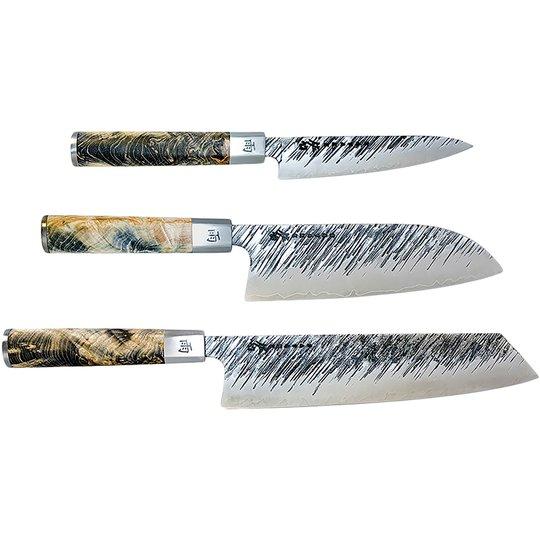 Satake Ame knivset i 3 delar