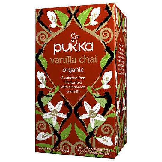 Pukka Herbs Vanilla Chai, 20 påsar