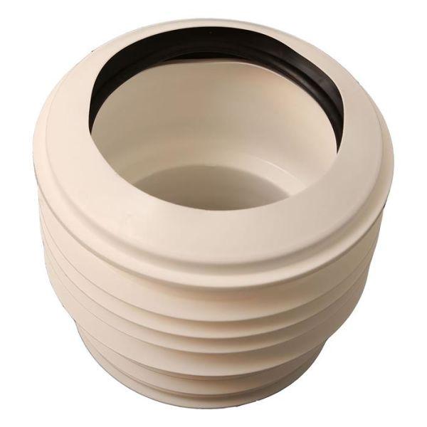 Ifö 7924929 WC-liitäntä keskellä olevalla viemäriliitännällä