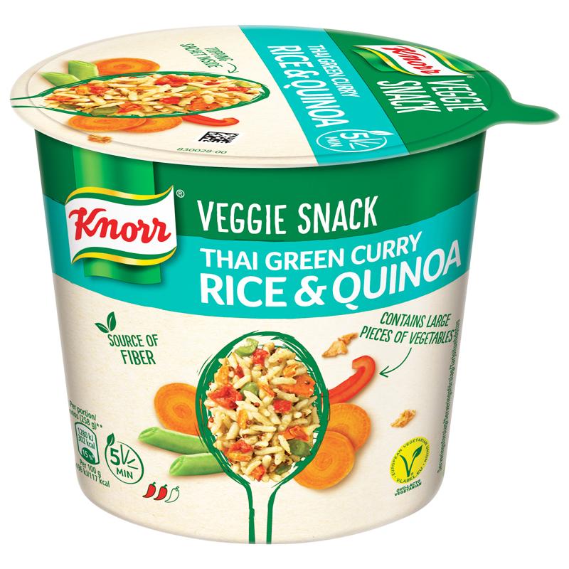 Veggie Snack Thai Green Curry - 33% alennus