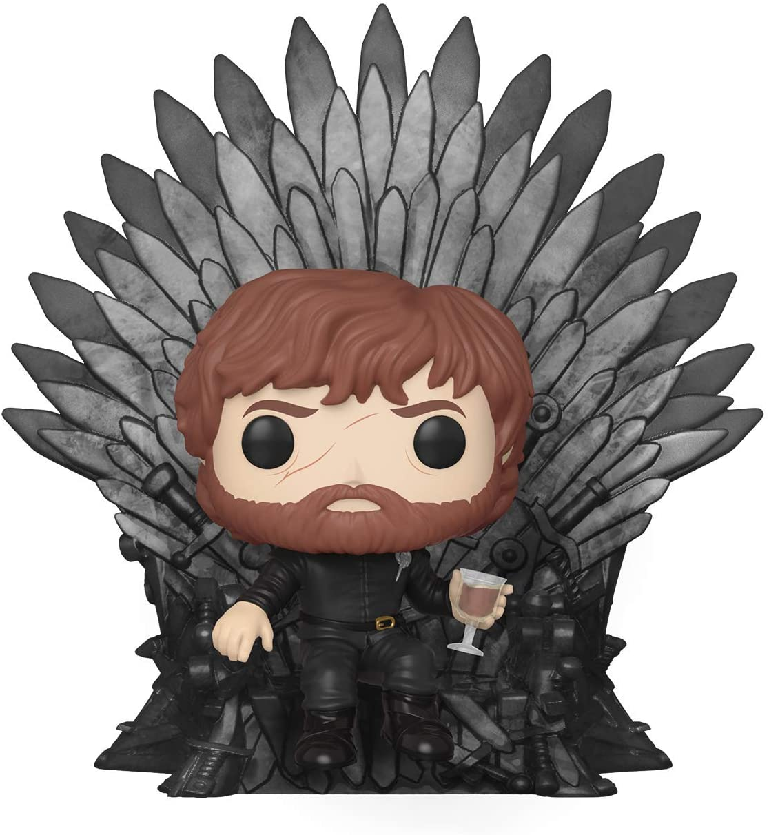 Funko POP! - Deluxe: Game of Trhones - Tyrion Sitting on Iron Throne (37404)