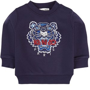 Kenzo Tiger Sweatshirt Marinblå 6 mån