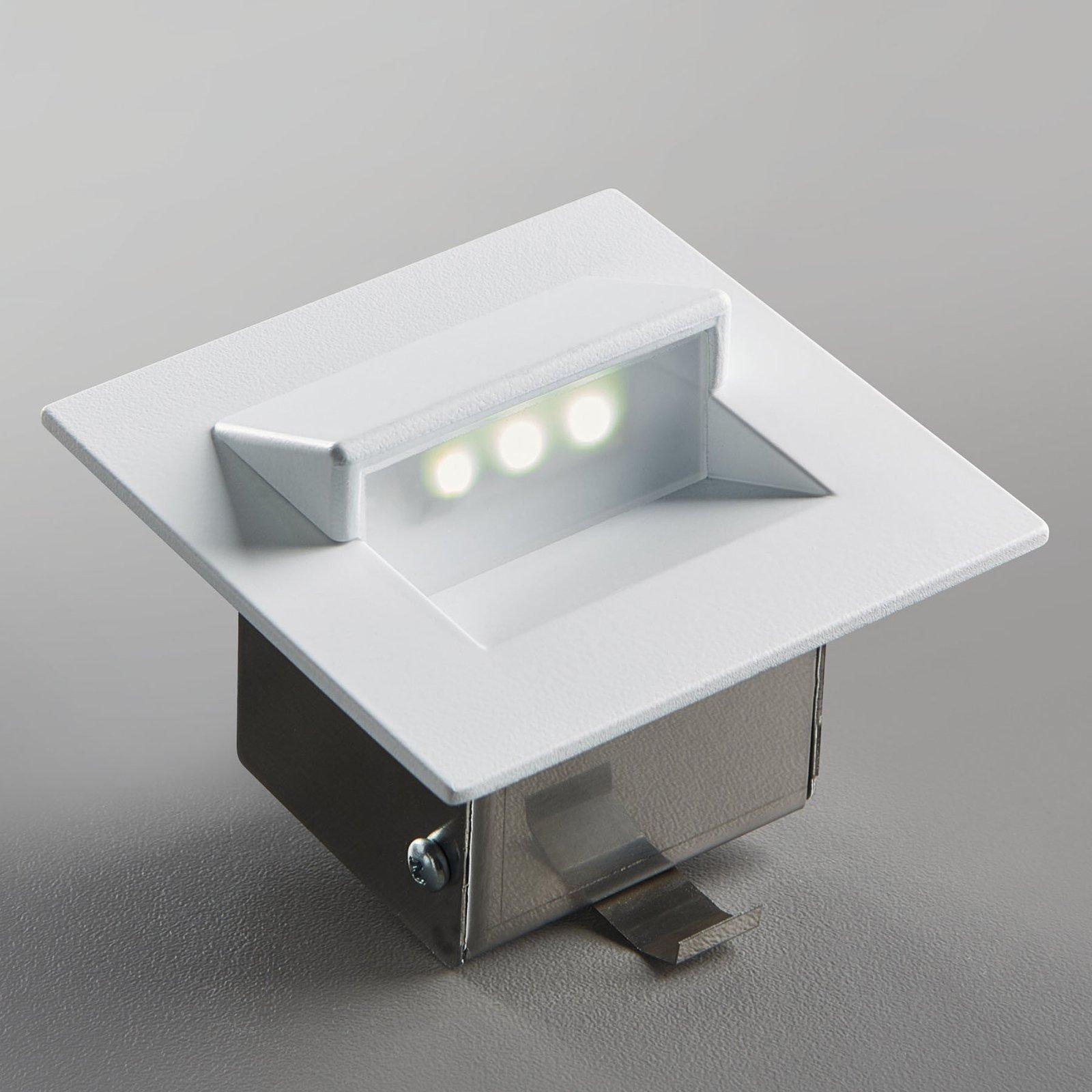 LED-innbyggingslampe Live av aluminium