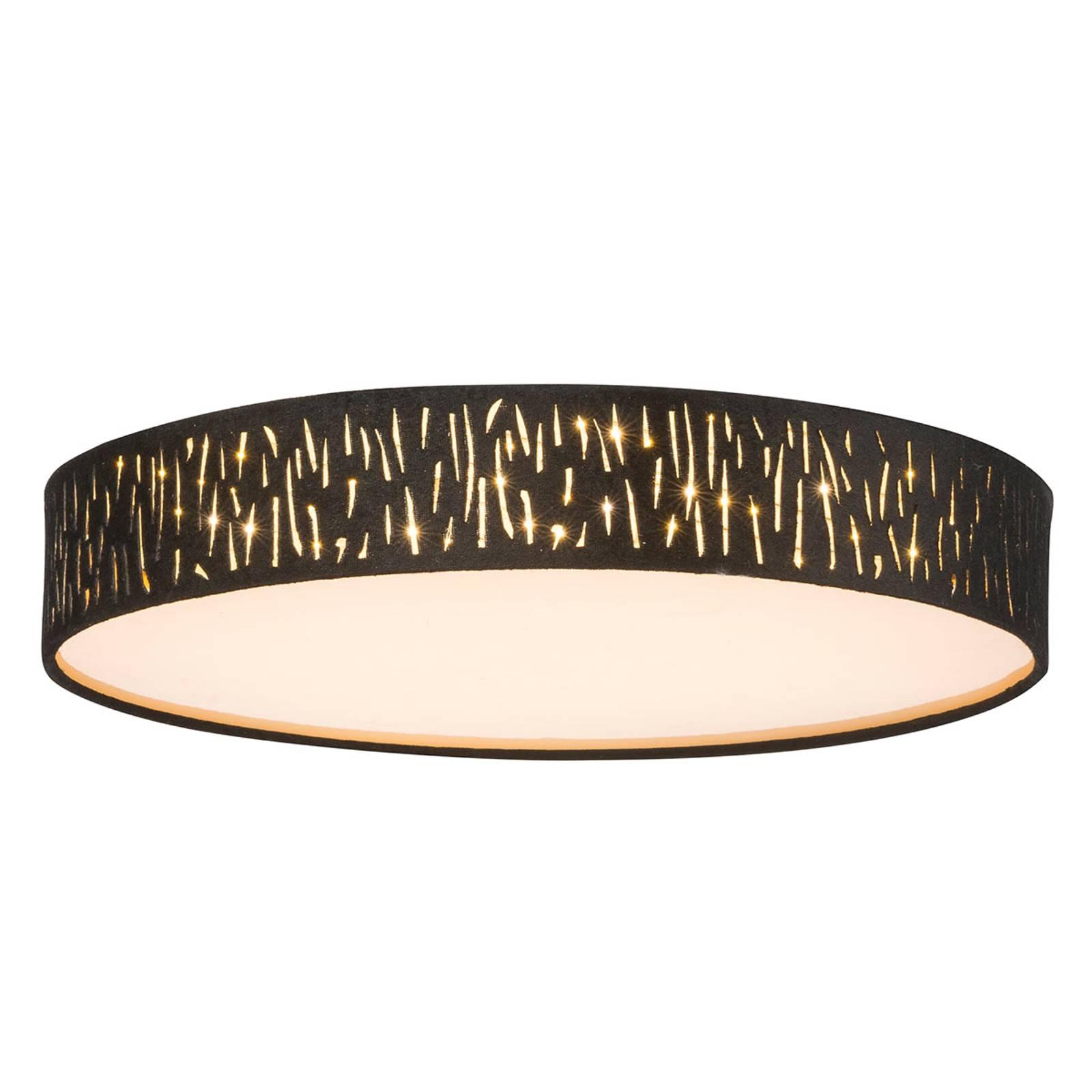 LED-kattovalaisin Tuxon, pyöreä