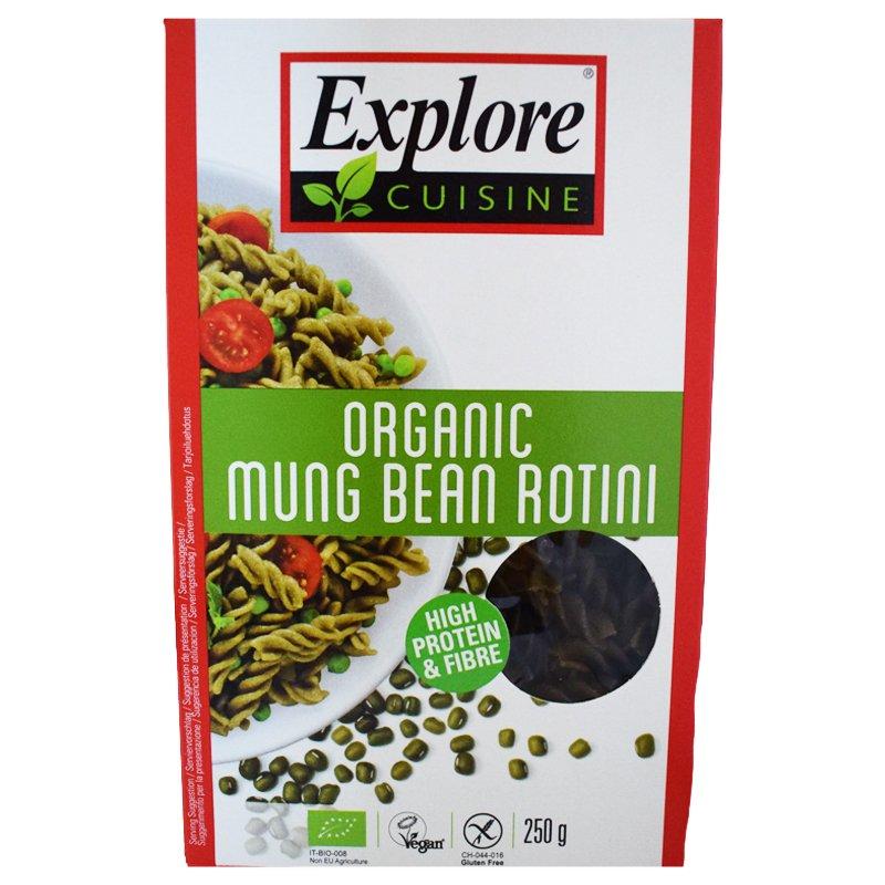 "Luomu ""Mung Bean Rotini"" 250g - 29% alennus"