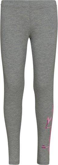 Diadora Leggings, Light Mid Grey Mel S