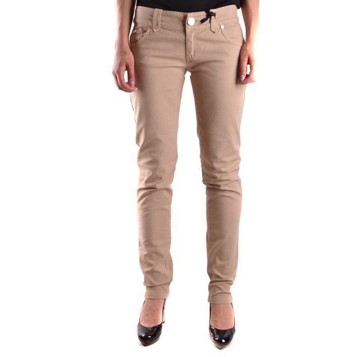 Elisabetta Franchi Women's Trouser Beige 161228 - beige 28