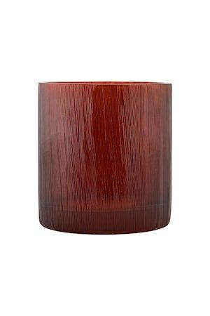 Tealight lysestake burgundy/brown