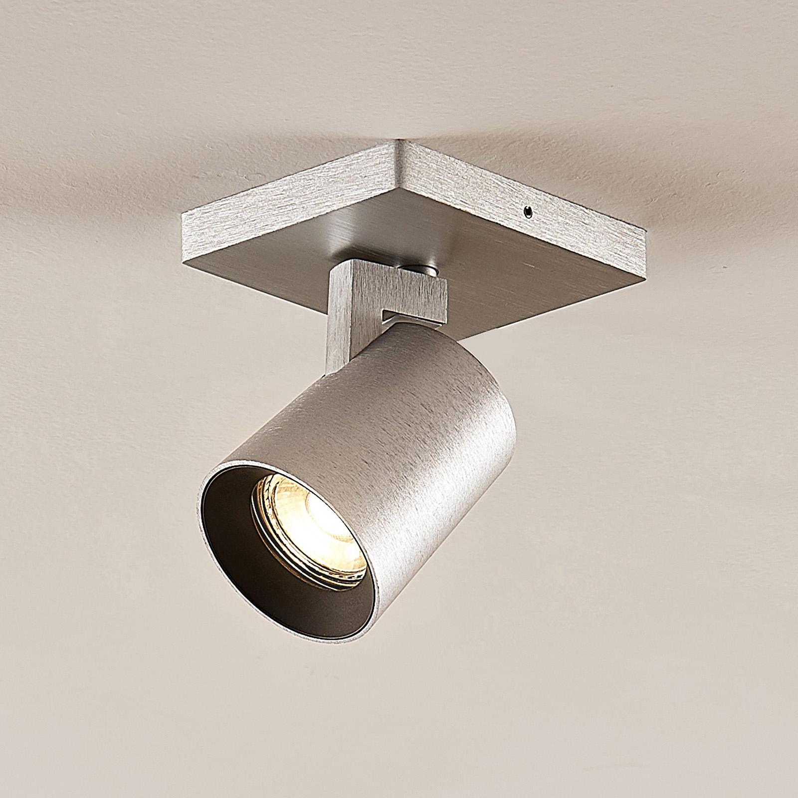 Arcchio Iavo -spotti, kulmikas, alumiini, 1 lamppu